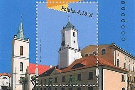 Polkowice na znaczku