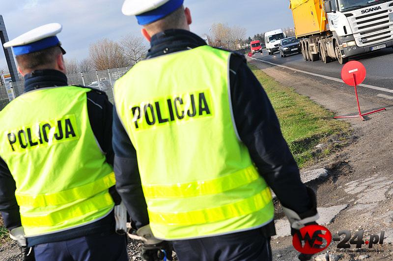 Wzmożone kontrole policji