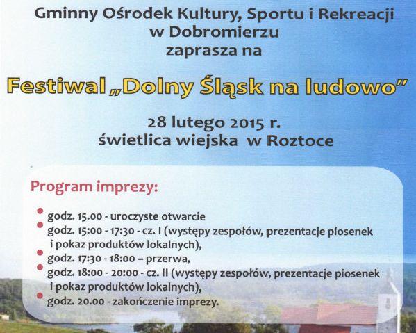 Ludowy Dolny  Śląsk w Dobromierzu