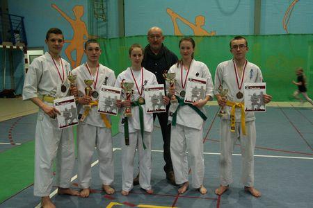 Sukcesy świdnickich karateków