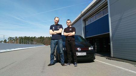 od lewej Bartosz Palusko oraz Damian Lempart