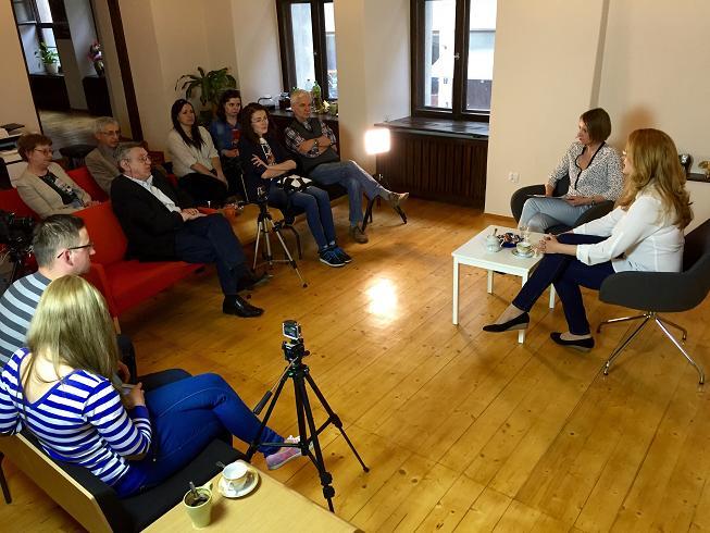 Pouczające spotkanie z Ukrainką