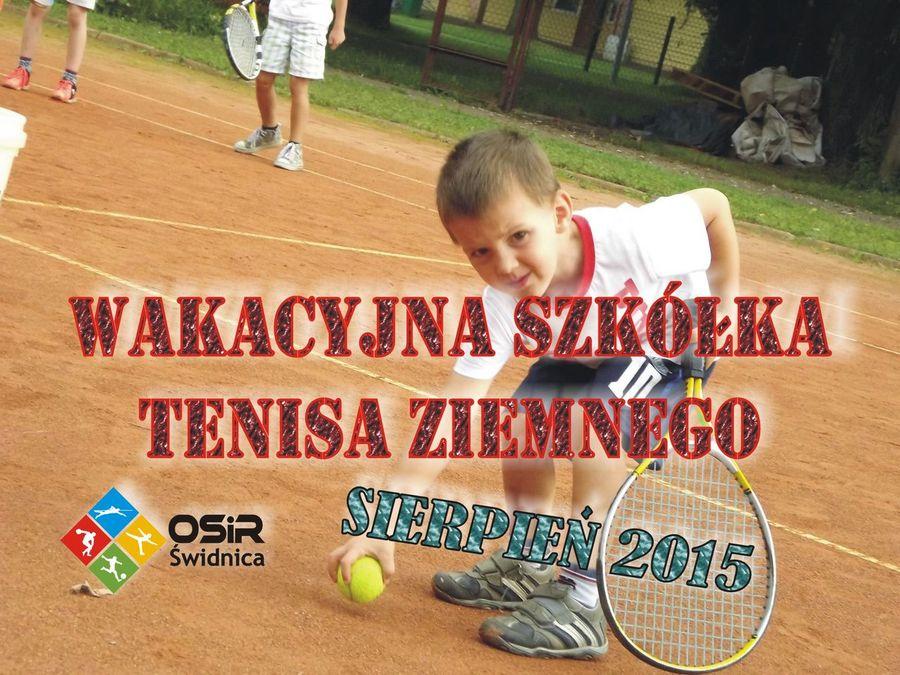 Wakacyjna szkółka tenisa ziemnego