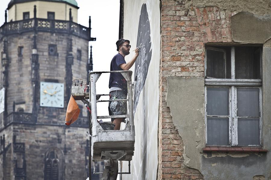 Świdnicki gryf oczami włoskiego artysty