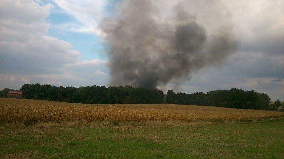 Pali się fabryka podpałek. Aktualizacja