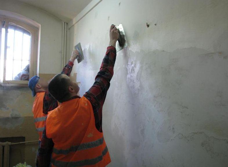 Więźniowie uczą się pracy