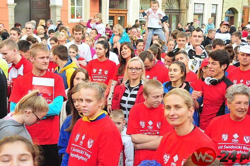 Pobiegnij dla Niepodległej. VIII Bieg Niepodległości – Świdnica 2015