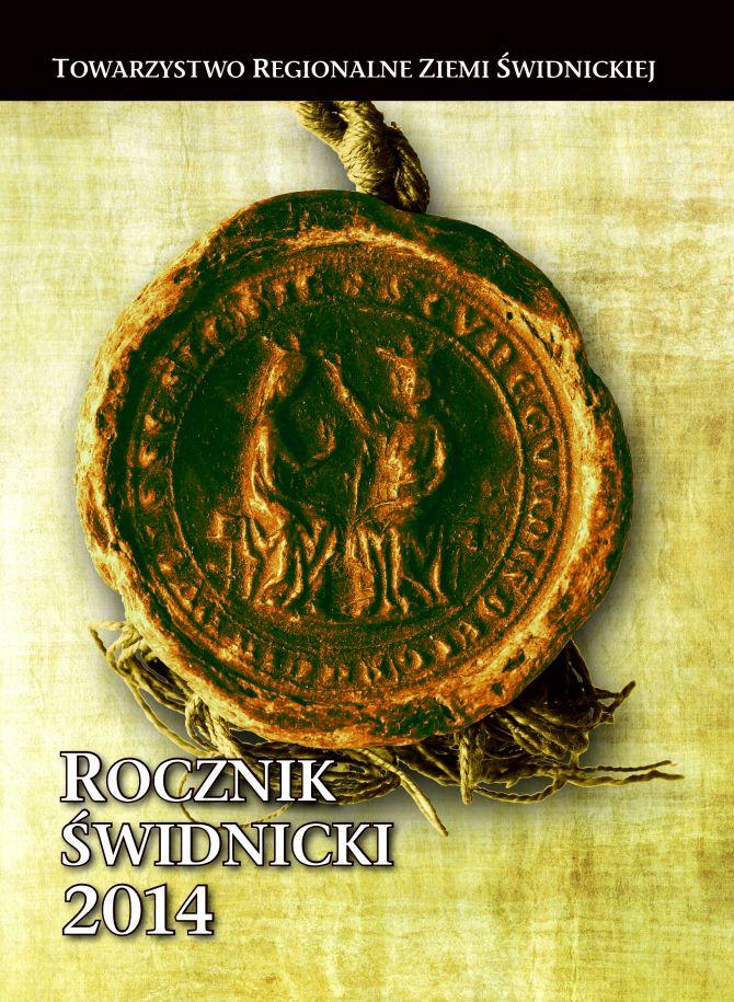 """Nowy """"Rocznik Świdnicki"""""""