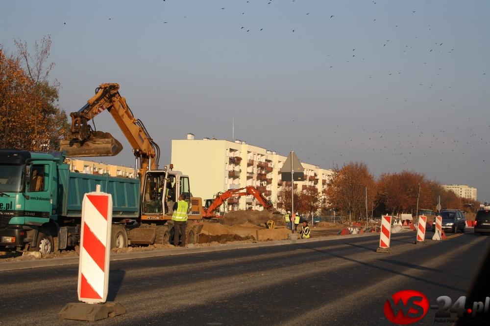 Ruch i autobusy wracają na ul. Emilii Plater