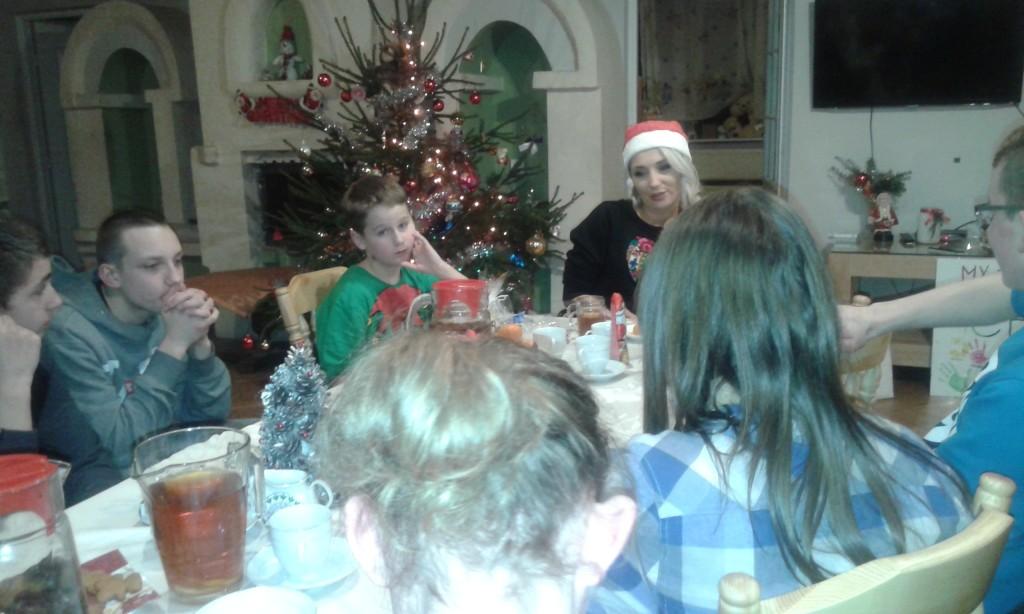 Cleo odwiedziła dzieciaki z SKSK