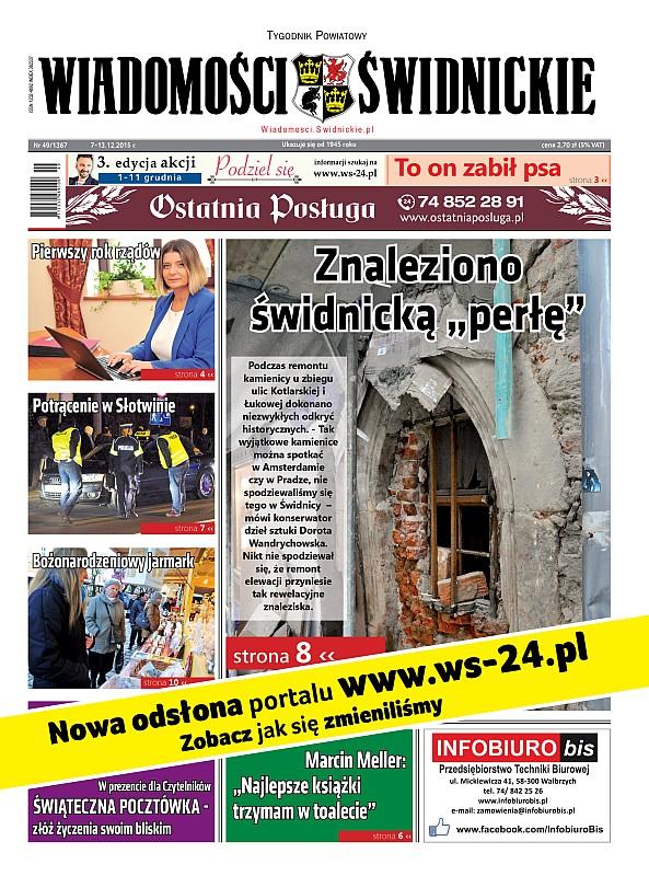 """Kup nowy numer """"Wiadomości Świdnickich"""""""