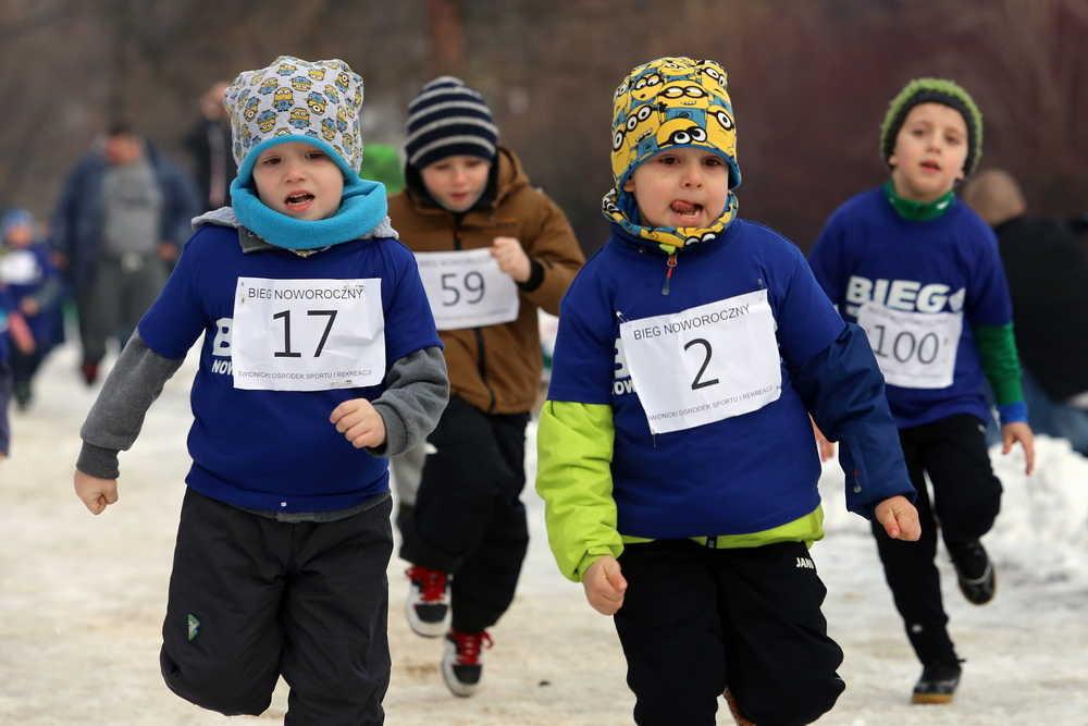 Dwieście osób biegało w śniegu (FOTO)