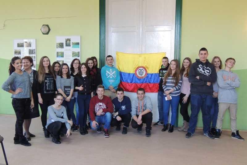 Studentka z Kolumbii uczyła Polaków