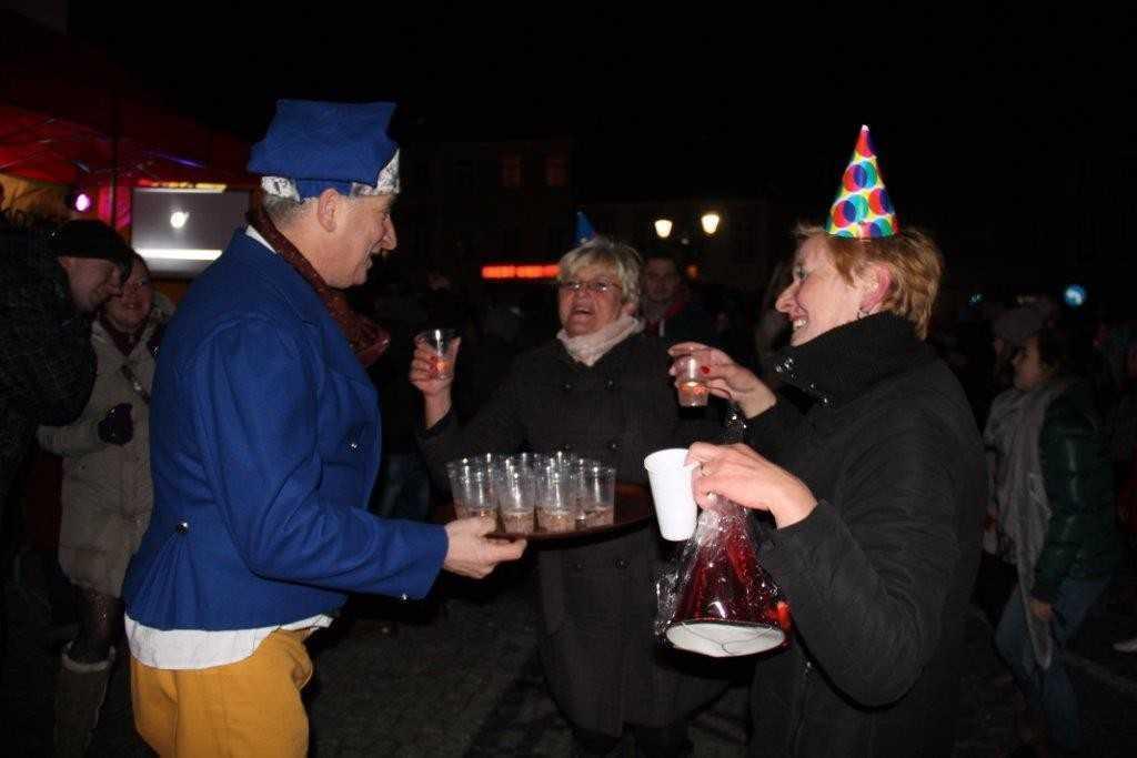 Tak witali Nowy Rok w Świebodzicach (FOTO)