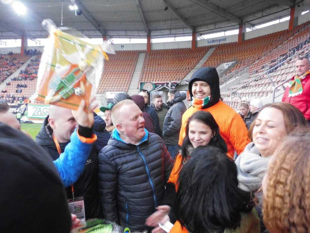 Przeżyli piłkarskie emocje (FOTO)