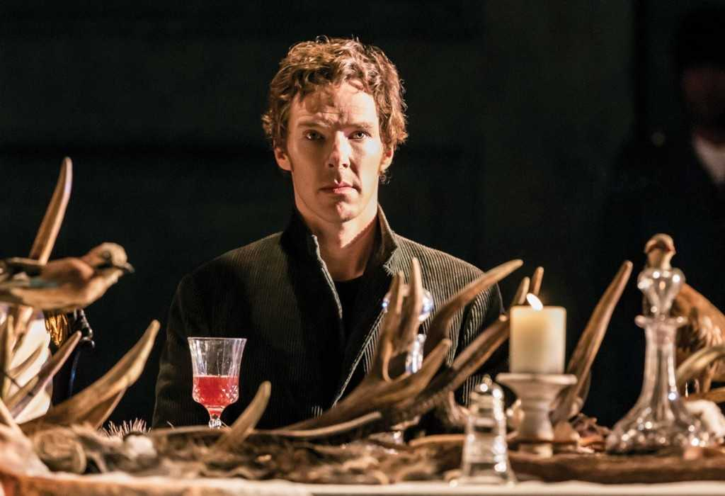 Hamlet (Benedict Cumberbatch). Photo by Johan Persson