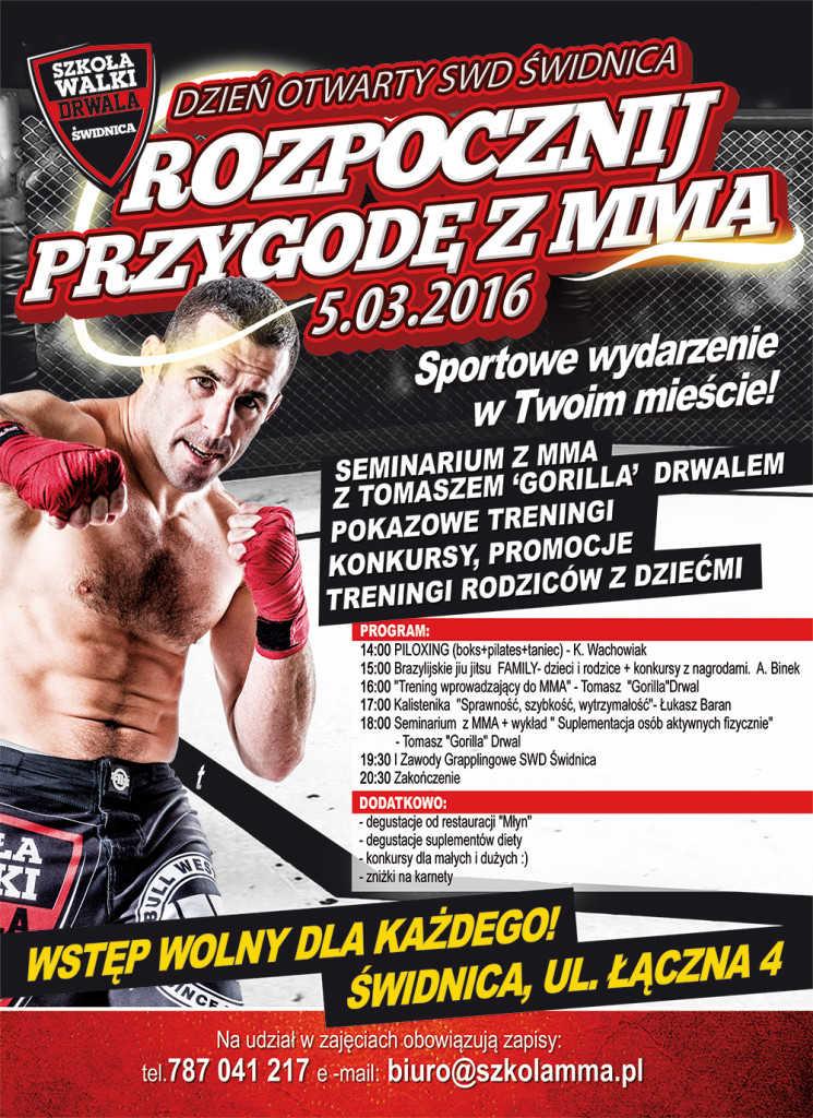 Rozpocznij przygodę z MMA!