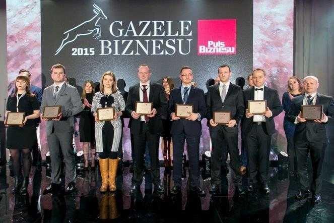 """""""Gazela Biznesu 2015"""" dla firmy z Jaworzyny Śląskiej"""