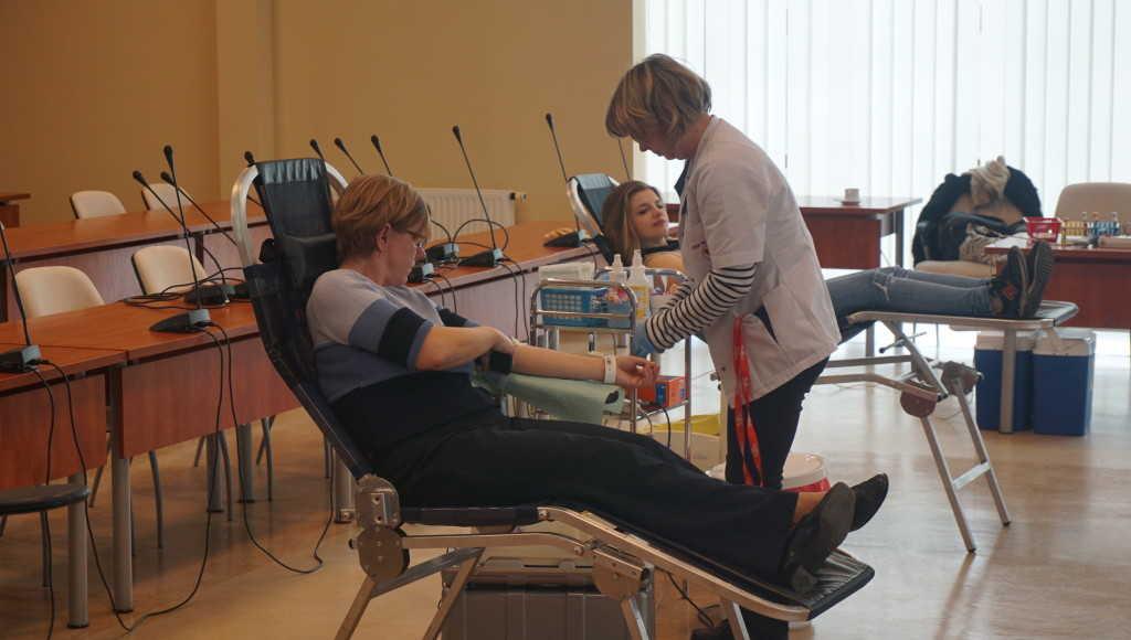 Zbiórka krwi - marzec I