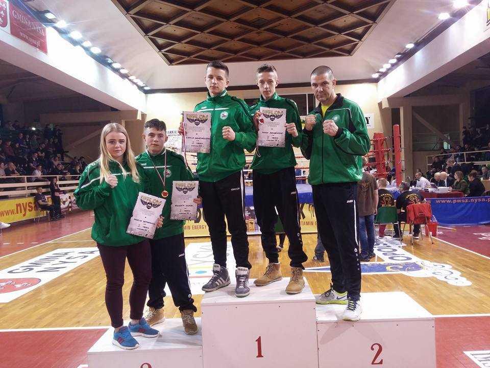 Medalowe żniwa bokserów Polonii