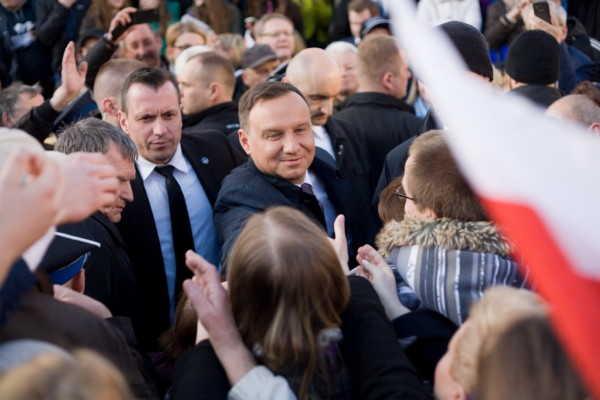 Prezydent Andrzej Duda w Świebodzicach (FOTO)