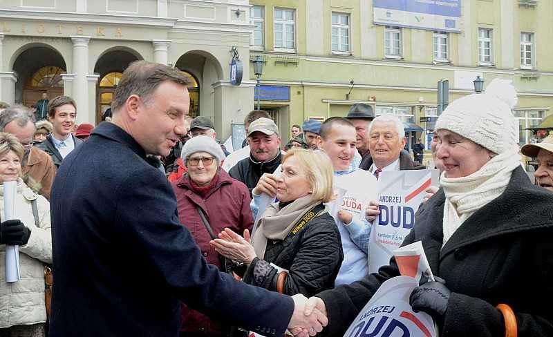 Prezydent Andrzej Duda w Świebodzicach