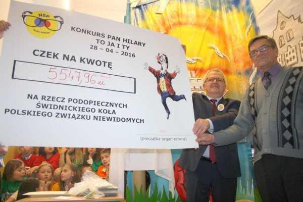 Ponad 5 tysięcy dla niewidomych dzieci!