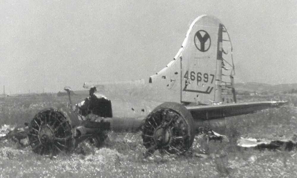 wrak-b-17-wierzbna