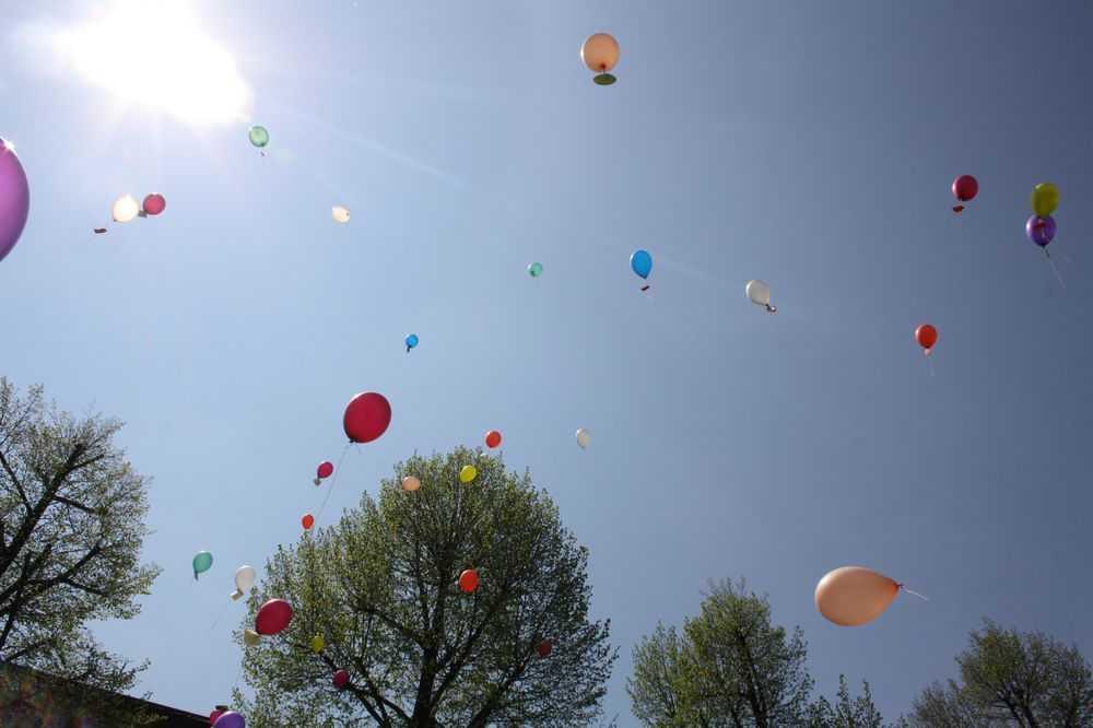 Balony z życzeniami dla mam