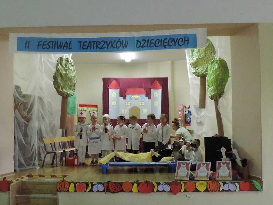 II Festiwal teatrzyków dziecięcych