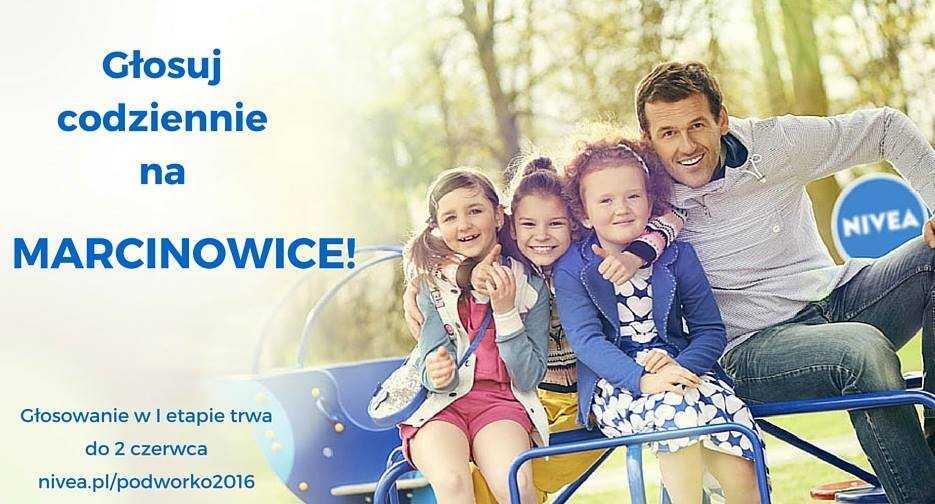 Głosuj na plac zabaw dla Marcinowic