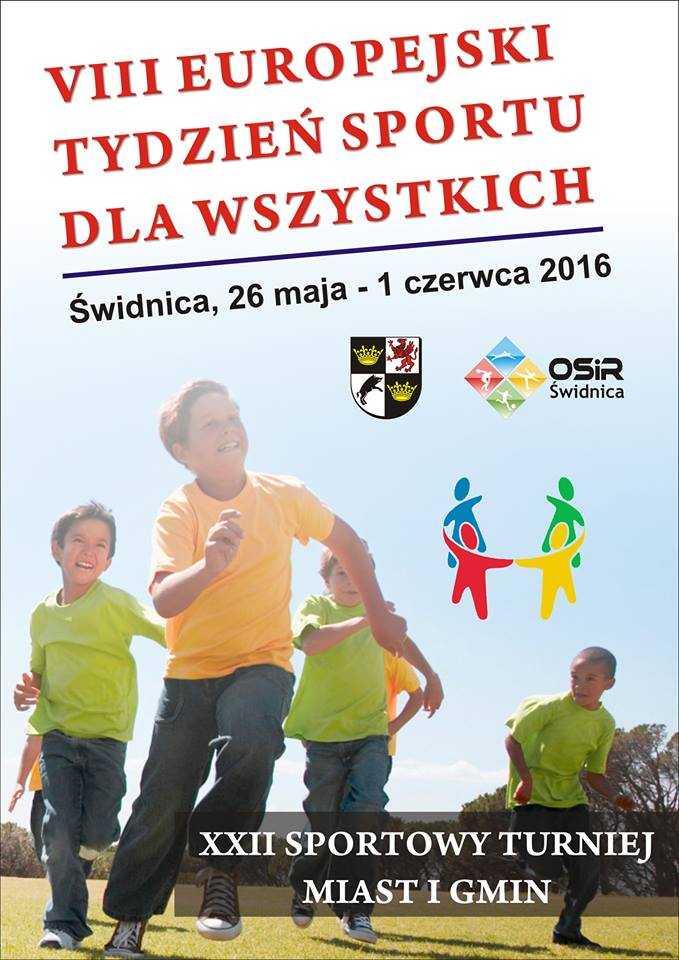 Europejski Tydzień Sportu dla Wszystkich także w Świdnicy