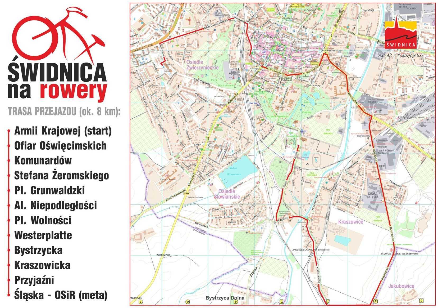 mapa rowery