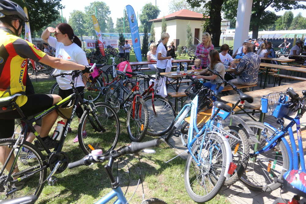Piknik rowerowy przeniesiony