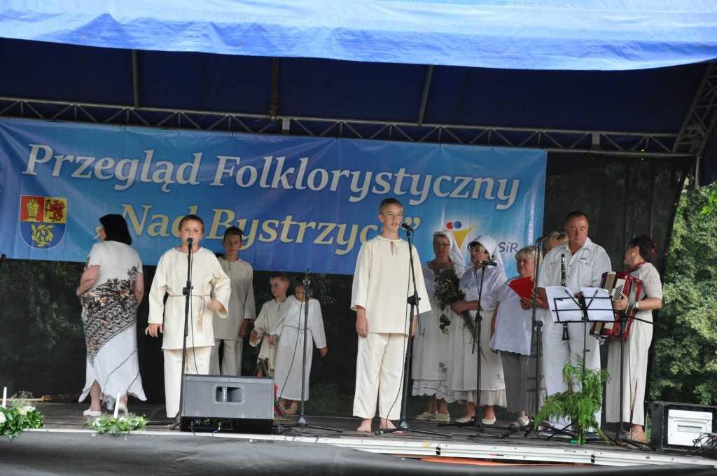 Śpiewali nad Bystrzycą