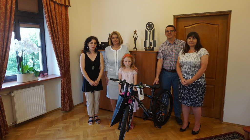 Wyjeździli rower dla świdniczanki