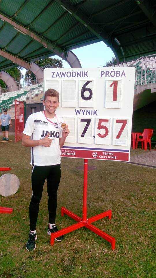 Mateusz Jopek mistrzem Polski młodzieżowców!