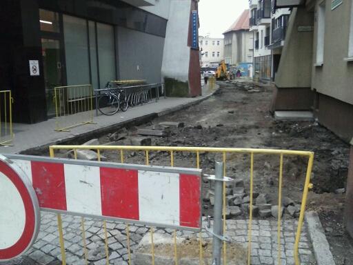 Przebudowa ulicy Spółdzielczej