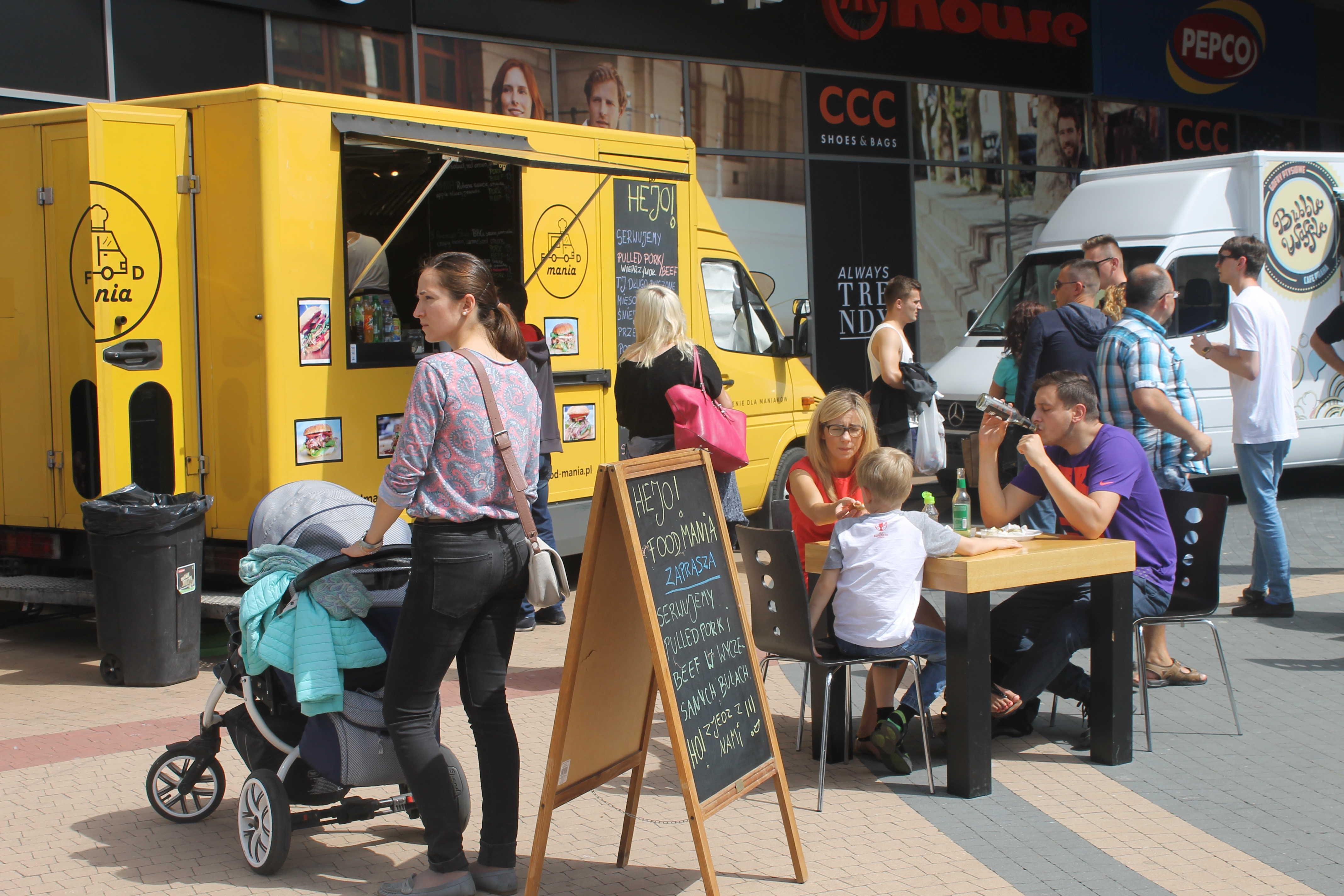 Food Trucki Zjechały Do świdnicy Foto Ws 24pl