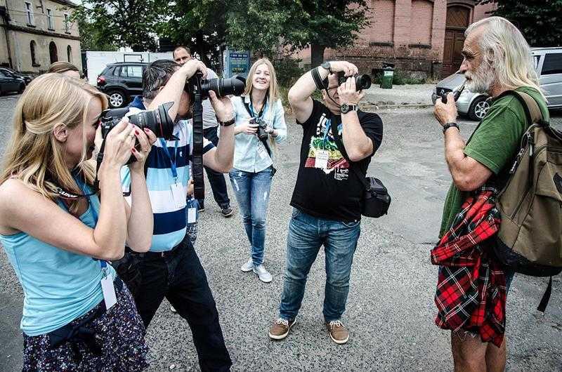 Z aparatami wyruszą w miasto