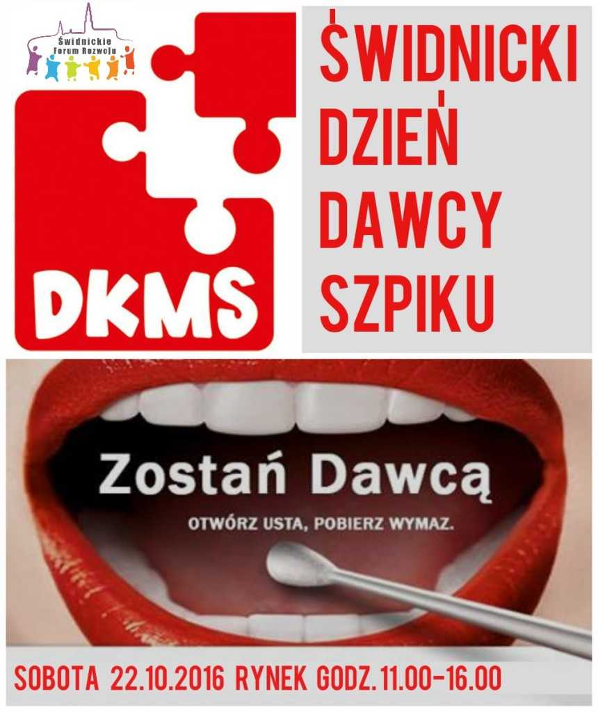 PLAKAT DKMS - Świdnica