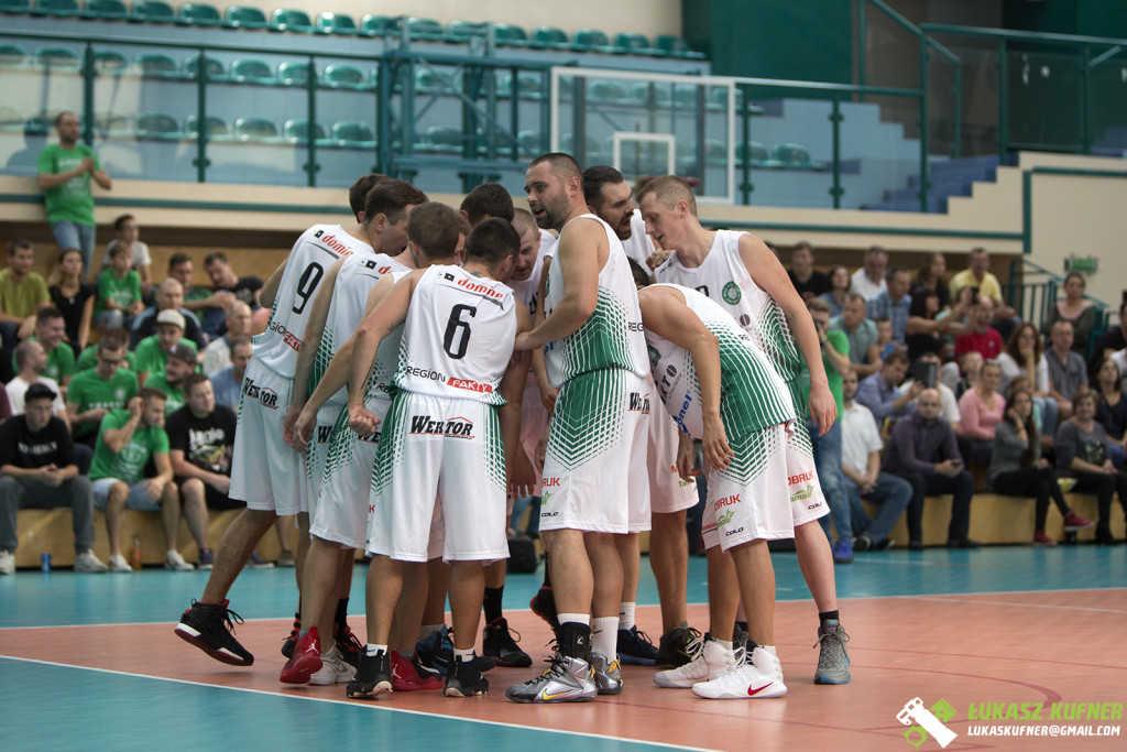 Wysoka porażka koszykarzy w Żarach