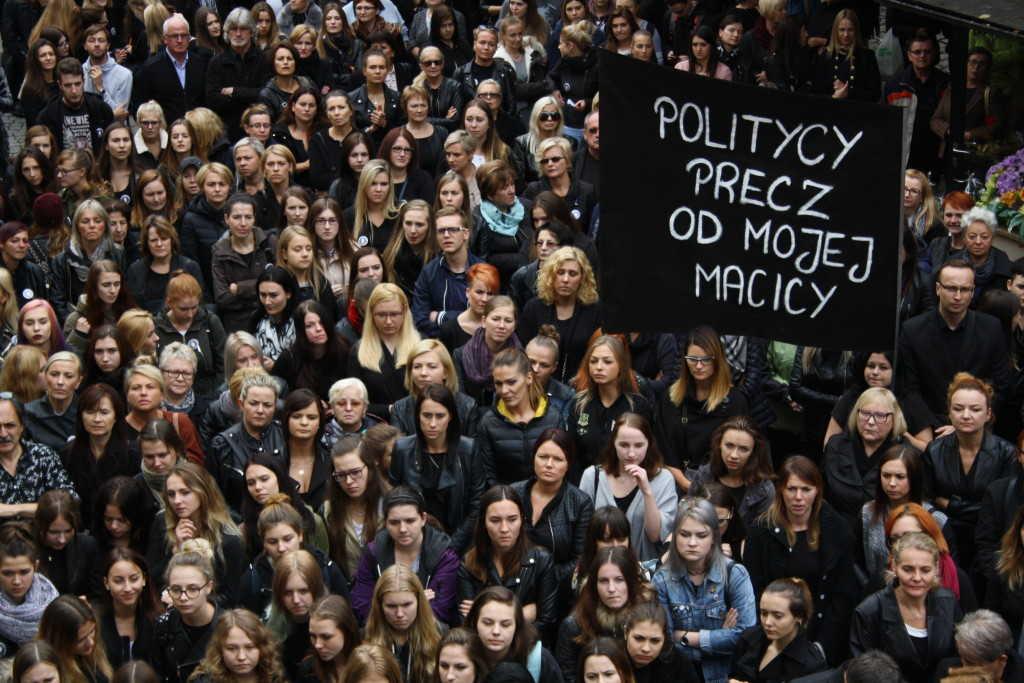 Czarny Wtorek. Kobiety znowu będą protestować!