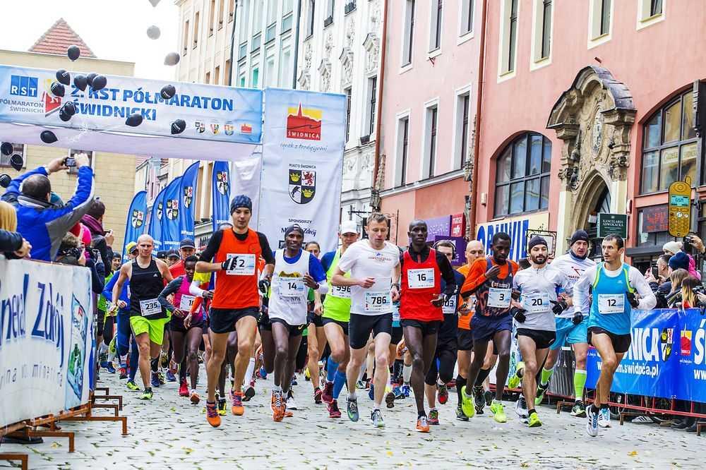 3. RST Półmaraton Świdnicki (MAPY, UTRUDNIENIA)