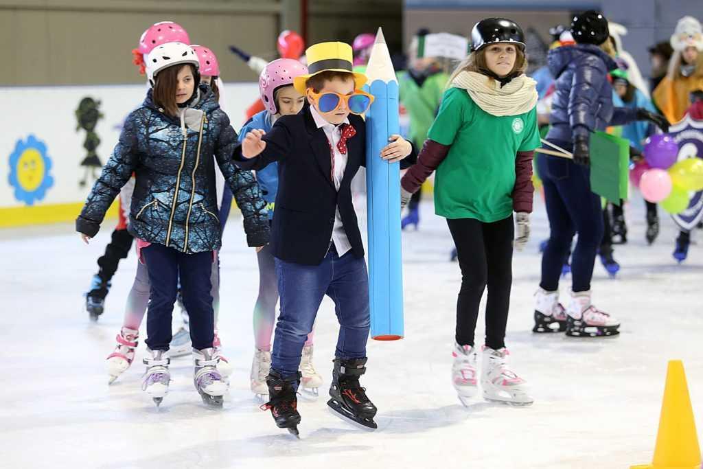 Na lodowisku o prawach dziecka (FOTO)