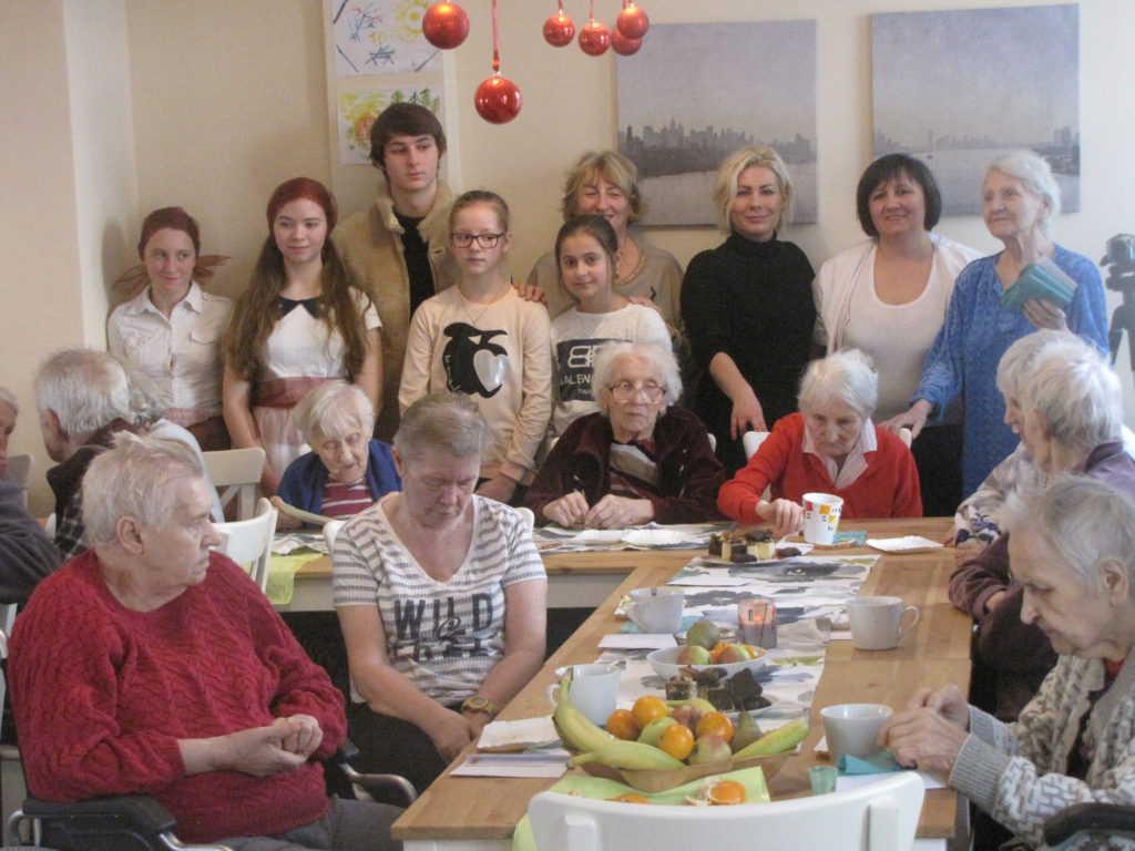 Spotkanie młodzieży z seniorami