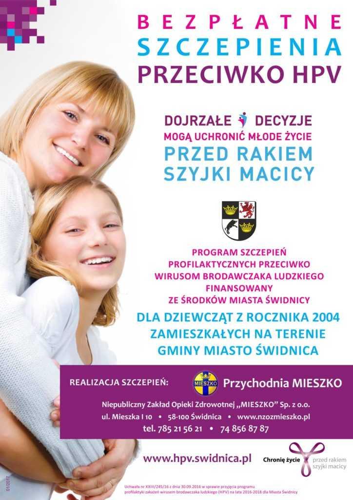 Świdnica finansuje szczepienia przeciwko HPV