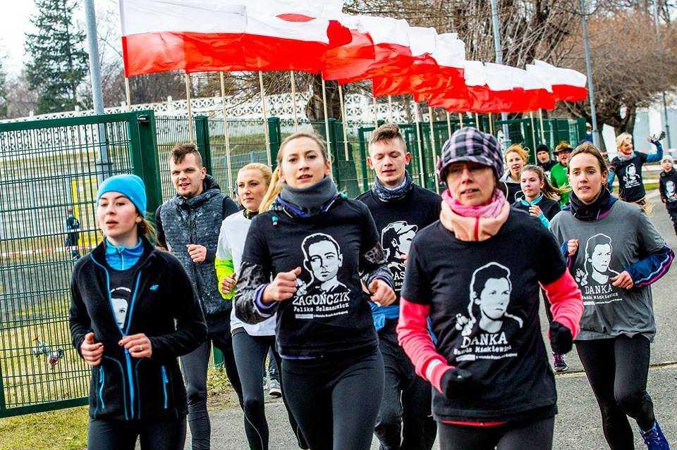 Biegowa lekcja patriotyzmu (FOTO)