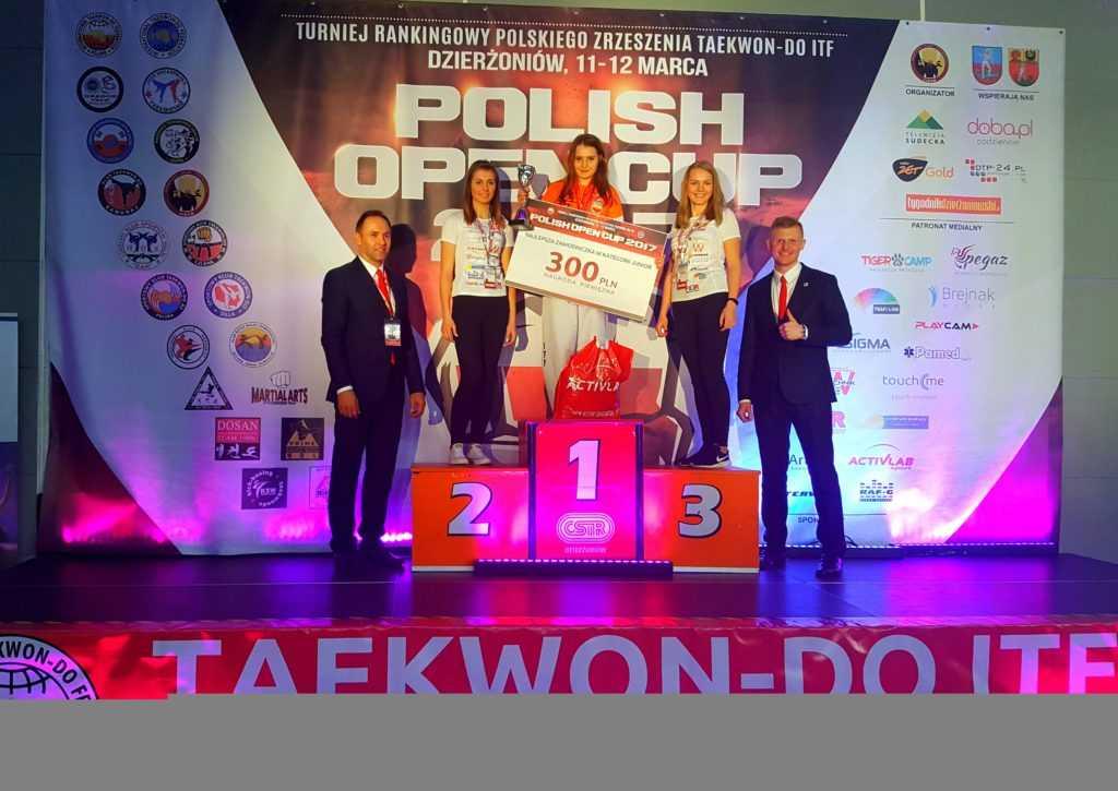 Daniela Kałużyńska – najlepszą juniorką Polish Open 2017 (WIDEO)