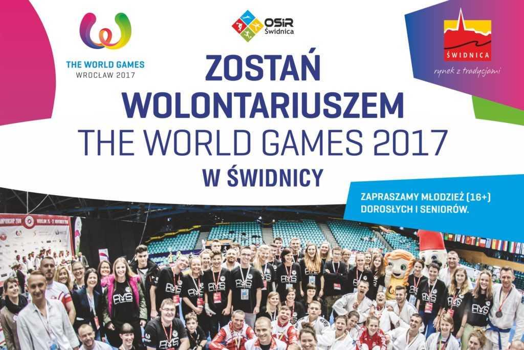 Zostań wolontariuszem na zawody The World Games w Świdnicy!